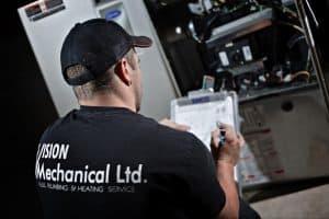 Vision Mechanical Furnace Inspection