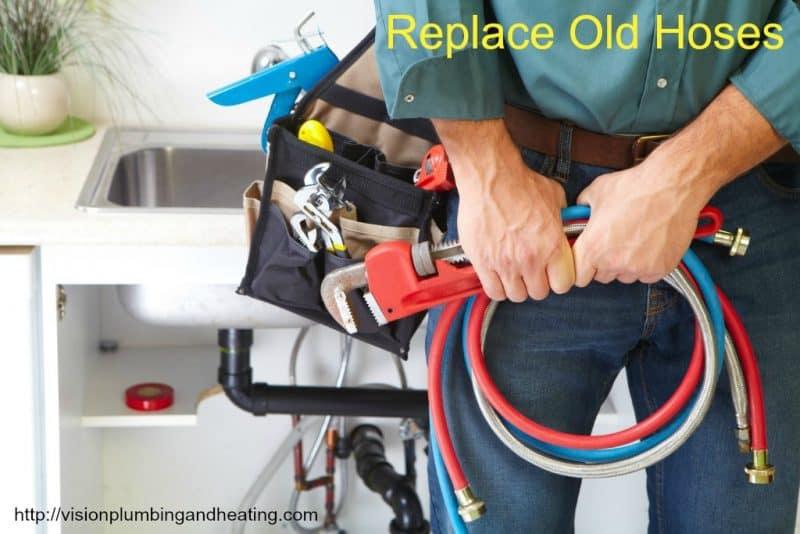 plumbing hoses Vision Mechanical