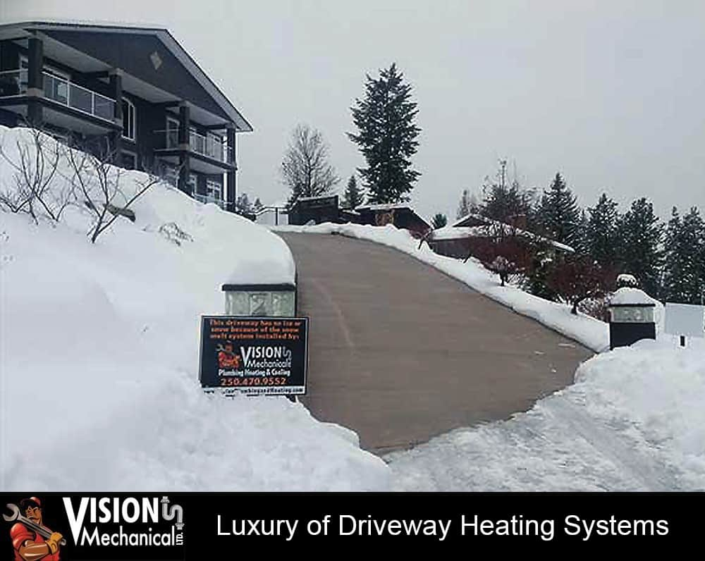 Luxury of Driveway Heating Systems