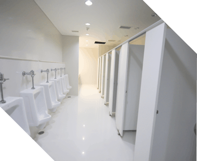 mens commercial washroom