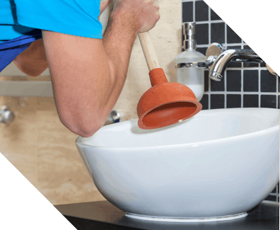 fixing a clogged drain