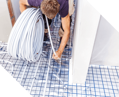 installing hydronic heating