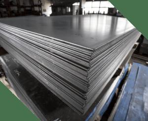 sheet metal in factory