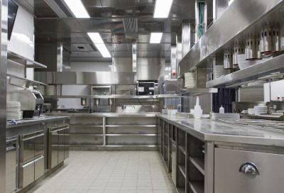 commercial restaurant kitchen