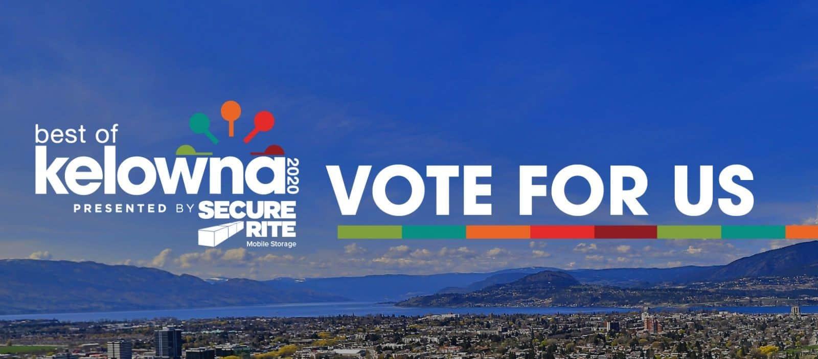 Vote for Us Best of Kelowna