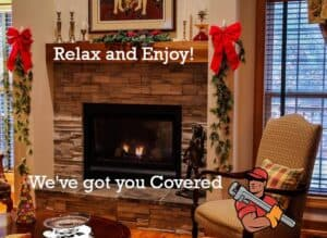 Fireplace Maintenance from Vision Mechanical